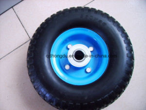 Factory Directly Sale 8 Inch Pneumatic Rubber Wheel pictures & photos