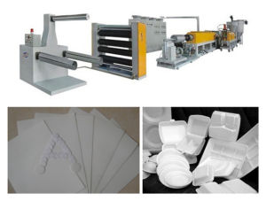 Plastic Sheet Machine (foamed sheet) pictures & photos