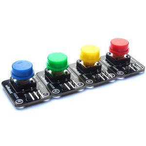 Wrobot Digital Button Switch Kit Arduino Compatible