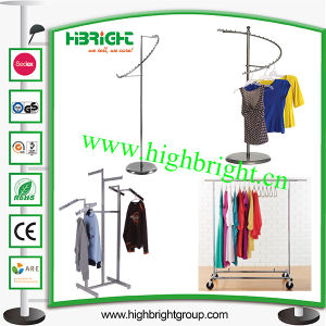 Clothes Store Display Rack Garment Rail pictures & photos