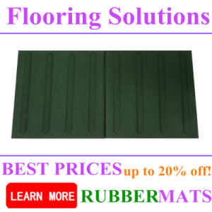Tactile Rubber Flooring Blind Tiles Durable Mats pictures & photos