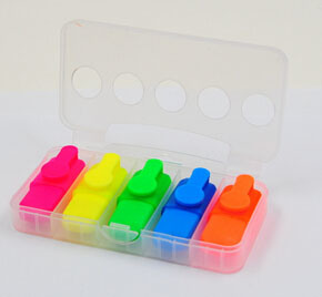 Classic Shape Mini Highlighter pictures & photos