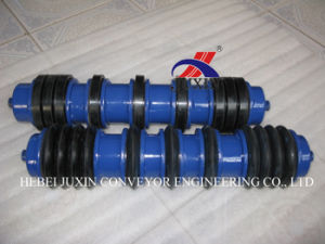 Belt Conveyor Self Cleaning Roller with Rubber Disc pictures & photos
