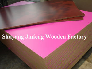 Melamine/Melamined/Melamine Facedmdf/Particle Board/Chipboard (JF-H7014) pictures & photos