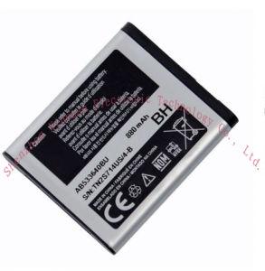 3.7V Lithium Rechargeable Ab533640bu Battery for Samsung E200 Mobile Phone E208/S259/E200