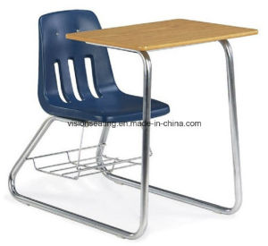 Classroom Student School Combo Desk and Chair (7304) pictures & photos