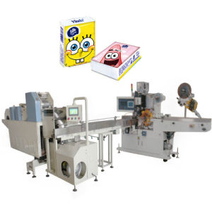 Hand Towel Plastic Bag Making Packaging Machine pictures & photos