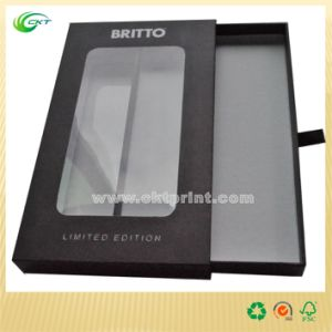 Four Color Printing Electronics Gift Box with Window (CKT- CB- 412)