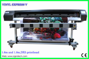 Vinyl Express V Dx5 Eco Solvent Printer with Take up 1.6m, 1.8m pictures & photos