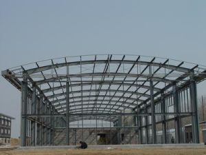 Construction Low Cost Workshop Steel Building pictures & photos