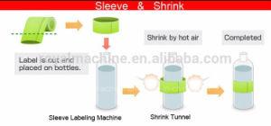 Automatic Pet Bottle Cap PVC Label Sleeve Machine Cap Seal Machine pictures & photos