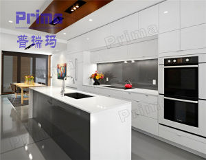 China Modern Cheap Kitchen Design Lacquer Kitchen Cabinet pictures & photos