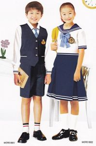 Primary School Uniform for Boys and Girls for Summer -Su24 pictures & photos