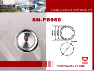Color Optional Elevator Push Button for Schindler (SN-PB960) pictures & photos