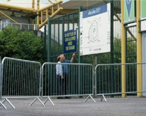 Crowd Control Barrier/Removable Steel Barrier pictures & photos
