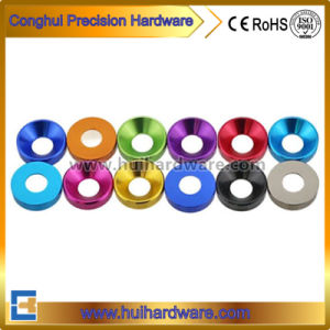 Colorful Anodized Aluminum Countersunk Washers M2 M3 M4 M5 pictures & photos