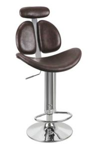 (SX-165) Commercial Furniture PU Leather Bar Chair pictures & photos