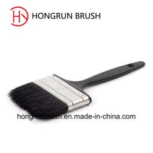 Plastic Handle Pure Black Bristle Paint Brush (HYP004) pictures & photos
