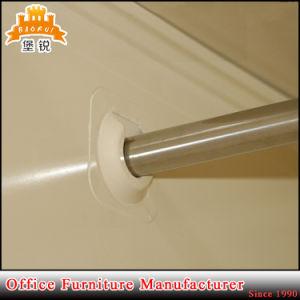 Metal Double Door Bedroom Iron Inside Drawer Steel Clothing Closet Wardrobe pictures & photos