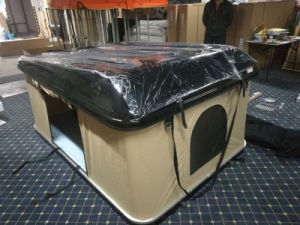 Hard Shell Fiberglass Uptop Campers Roof Top Tent pictures & photos