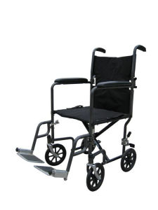 Stc01 Hot Sale Black Transport Wheelchair pictures & photos