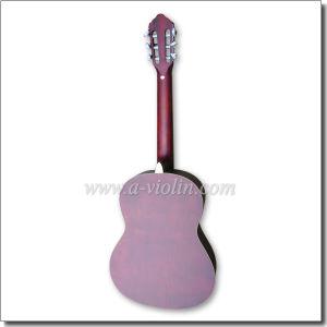 New Varnish Craft Laminated Linden Wooden Classical Guitar (AC851-SA1) pictures & photos