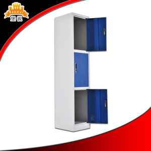 Three Doors Metal Locker for Gym pictures & photos