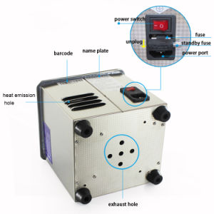 Ultrasonic Jewelry Cleaner 1.3L 40kHz Dagassing pictures & photos