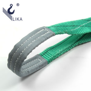 100% High Tenacity Polyester 2t Double Ply Webbing Sling pictures & photos