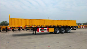 China 60tons Sidewall Semi Trailer