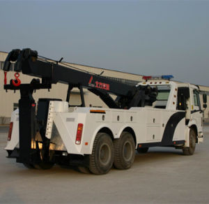 China Brand New HOWO Emergency Truck Road Wrecker Tow Truck pictures & photos