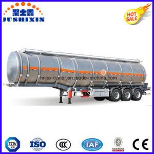 3 Axle 45cbm Aluminium Crude Oil/Cargo/Diesel/Petro/Gasoline/Fuel/Utility Tank Truck Semi Trailer with 7 Silo pictures & photos