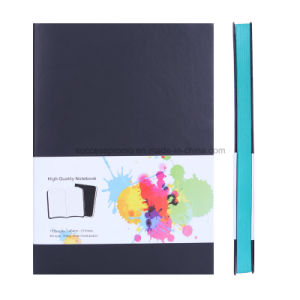 High Quality Softcover Notebook with Color Sides pictures & photos