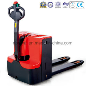1.6t-2.5t Long Tiller Electric Powered Pedestrian Pallet Truck pictures & photos