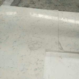 Sparkling White Quartz Kitchen Countertops pictures & photos