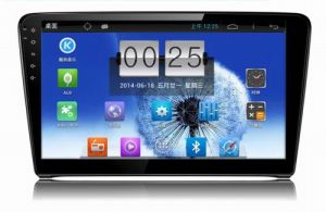 """10.1"""" Big Screen Android 4.4 Car Navigation System for VW Santana with 1024 * 600 Resolution and DVR Camera Input"""