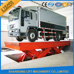 Hydraulic Mechanical Inground Big Scissors Car Lift pictures & photos