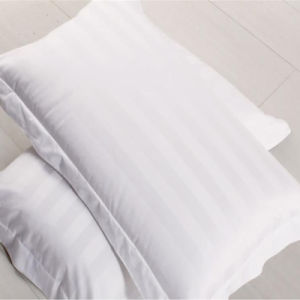 3cm Satin Stripe Hotel Using Cotton Pillow pictures & photos