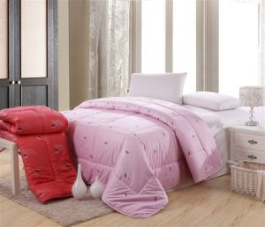 Solid Colour Polyester Thin Quilt