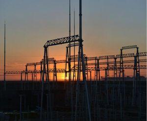 500kv Dead End a-Frame Substation Structure pictures & photos