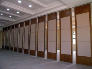 Operable Partition Wall for Hotel/Restaurant/Dining Room pictures & photos