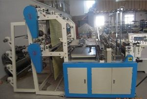 Dzb-800 Automatic High Speed Shopping Plastic Bag Making Machine pictures & photos