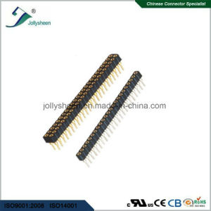 Machine Female Herader Pitch2.54mm Right Angle   Type   H7.0mm Connector pictures & photos
