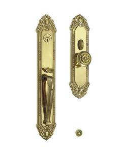 Made of Solid Brass Entrance Security Door Lock pictures & photos