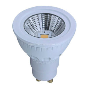Hot Sale Dimmable 110-240V 5W GU10 COB LED Spotlight Downlight pictures & photos