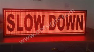 Outdoor Vms Message Board Full Matrix Traffic Variable LED Message Display Sign pictures & photos