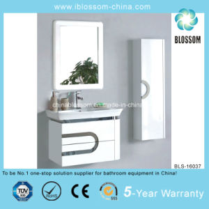 Art Style Single Bathroom Cabinet (BLS-16037) pictures & photos