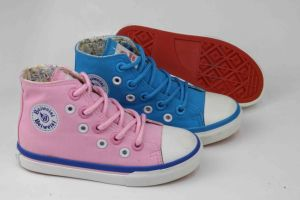 2016 Latest Design Kids Canvas Shoes Vulcanied Shoes (SNK-02013) pictures & photos