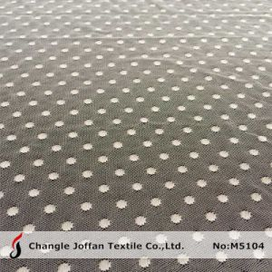 Mesh DOT Lace Fabric for Garment Accessories (M5104) pictures & photos