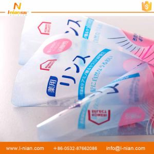 Custom Printed Waterproof Transparent Adhesive Label for Plastic Shampoo Bottles pictures & photos